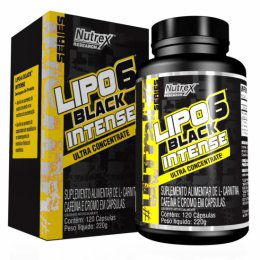 Lipo 6 Black Intense Ultra Concentrate (120 caps)