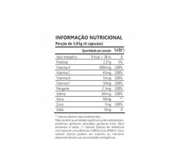 Colágeno DermUP (90 caps) - TABELA NUTRICIONAL
